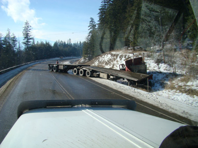 super b off of the road by vavenby bc