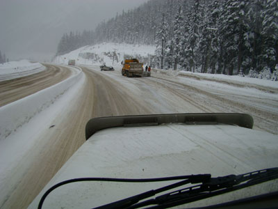 rollover on the Coquihalla smasher hill.