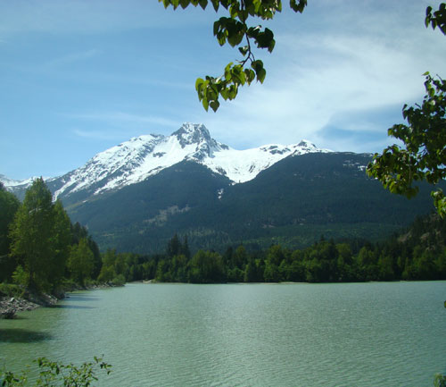 Lillooet Lake NW of Pemberton