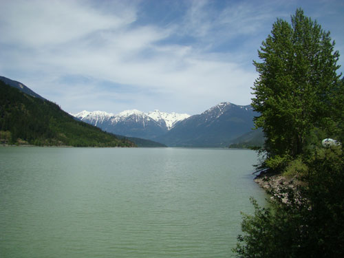 South end of Lillooet Lake