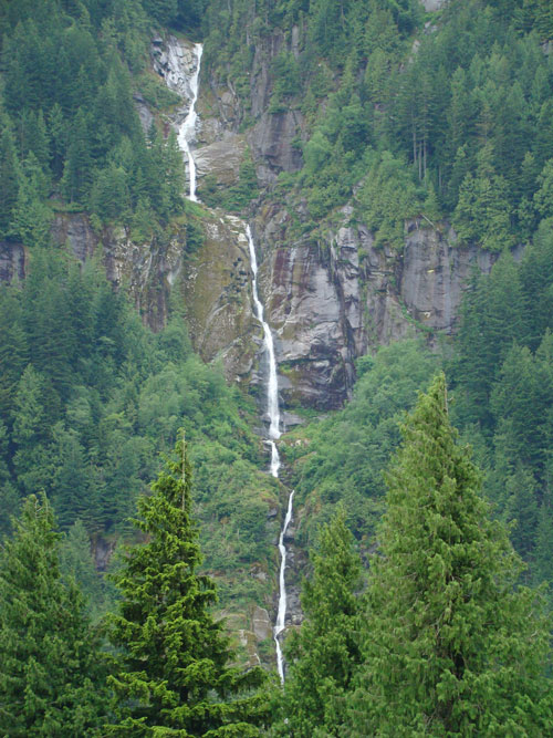 Waterfalls in Flood Hope BC