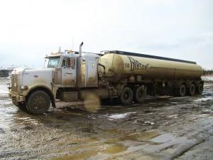 wabasca alberta crude oil hauling